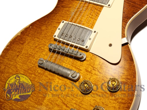 """2009 Gibson Custom Shop Billy Gibbons """"Pearly Gates"""" Les Paul Standard Aged Billy Gibbons Burst"""