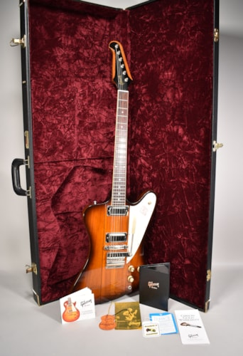 2009 Gibson Custom Shop Historic '64 Firebird III Sunburst Finish Electric Guitar w/OHSC