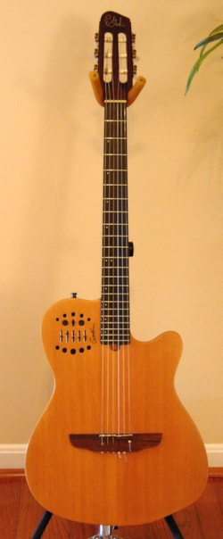 2009 Godin Multiac - ACS - SA Slim (Nylon)