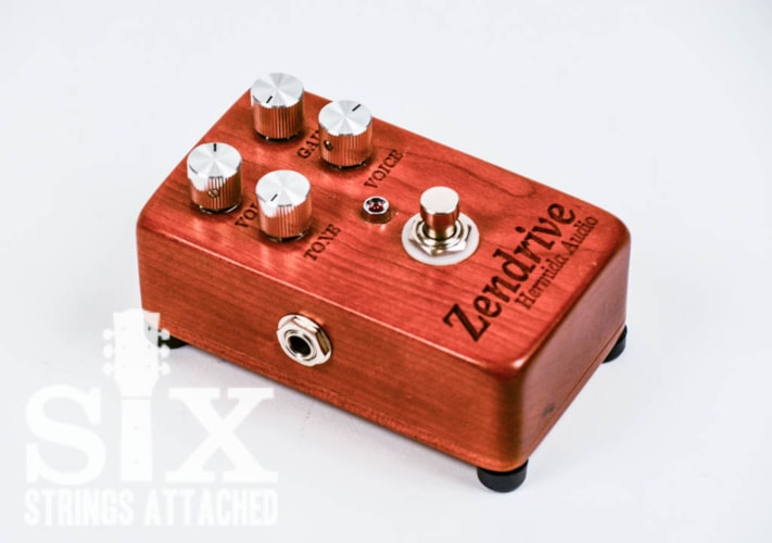 2009 Hermida Audio  Special Edition #5/130 Zendrive Cherry Wood Pedal Case, Mint, $1,738.88