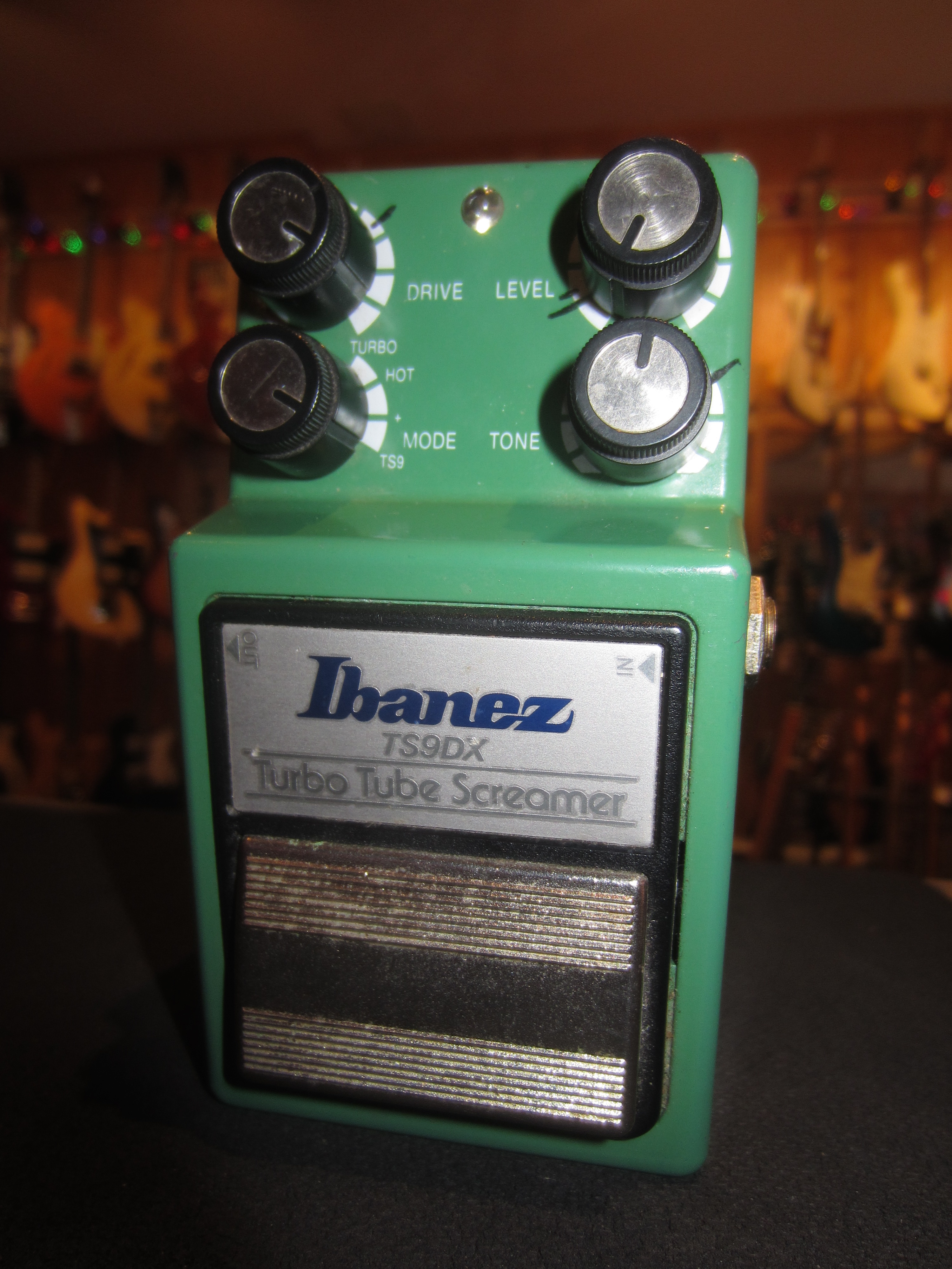 ~2009 Ibanez TS-9DX Turbo Tube Screamer Overdrive Green