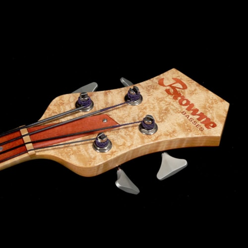 2009 Mike Browne Design Gnome Fretless 4 Bass Guitar Natural 2009 Excellent, $2,699.00
