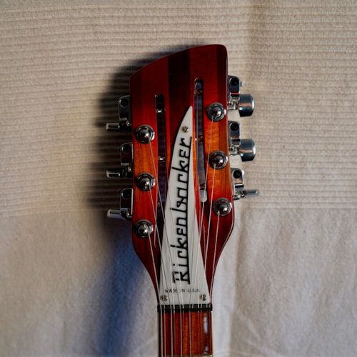 2009 Rickenbacker 360-12 Fireglo, Near Mint, Original Hard
