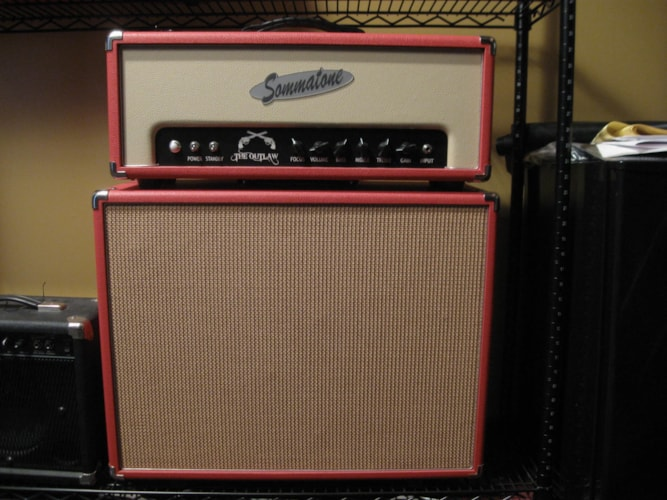 "2009 Sommatone Outlaw Head & 2 x 10"" cabinet"