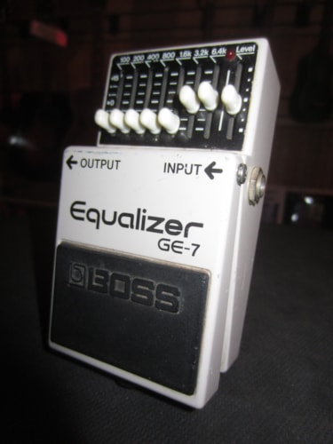 2010 BOSS GE-7 Graphic Equalizer EQ Grey, Excellent, $89.00