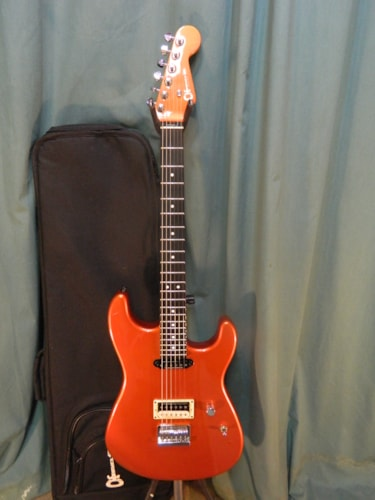 ~2010 Charvel Pro Mod Wildcard #6 Dreamsicle Orange