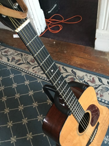 2010 Collings D1 Acoustic Guitar Natural, Excellent, Original Hard