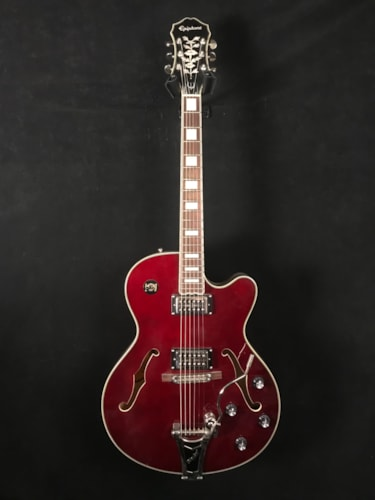 2010 Epiphone Swingster Wine Red