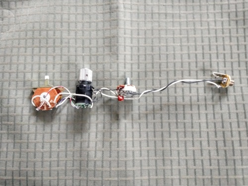2010 Fender American Telecaster Deluxe S1 Wiring Harness  U0026gt  Guitar Parts