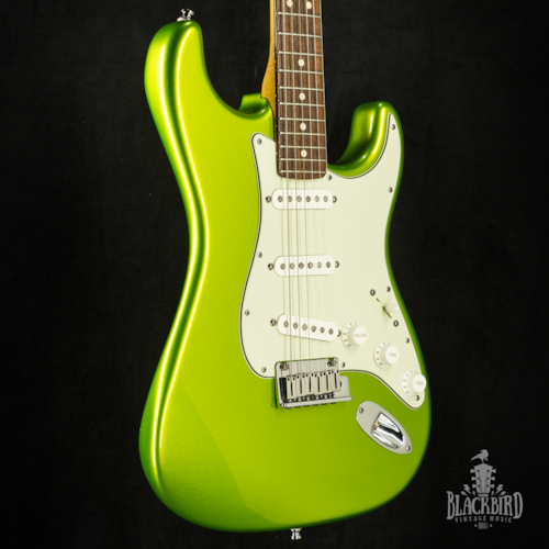 2010 Fender Custom Shop Deluxe Stratocaster Lime Green