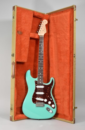 2010 Fender Custom Shop '61 Stratocaster NOS Seafoam Green Electric Guitar w/HSC