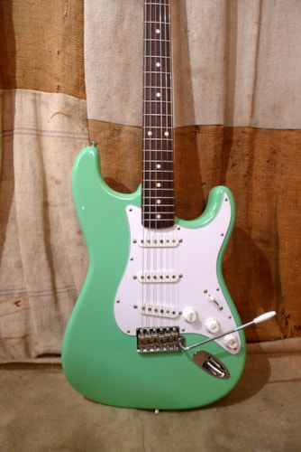2010 Fender Stratocaster (1962 Reissue) Sea Foam Green, Very Good, GigBag, $1,050.00