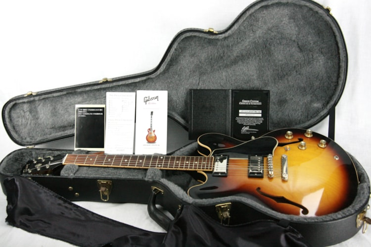 2010 Gibson 1960 ES-335 Reissue! 50th Anniversary Custom Model! Memphis Dot Neck Excellent $2,499.00
