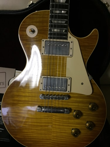 2010 Gibson/Historic Makeovers jimmy page burst 59 r9 page burst, Excellent, Original Hard, $6,999.00