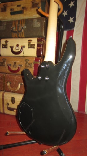 2010 Ibanez Mikro 3/4 Size Electric Bass Black, Excellent, $149.00