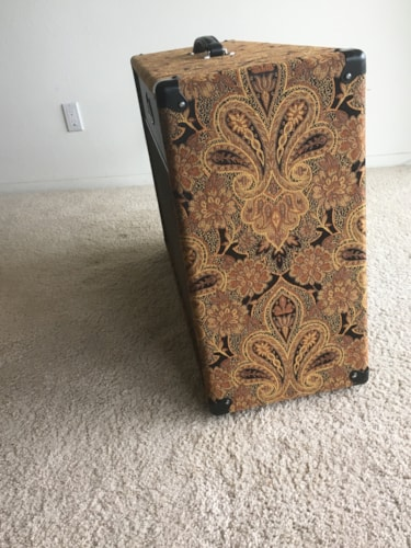 2010 Paul Reed Smith 2x12 Speaker Cabinet Closed Back Vintage 30s Paisley, Excellent, $949.00