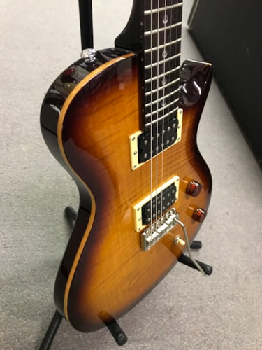 2010 PRS SE Singlecut Translucent Brown Burst, Near Mint, GigBag