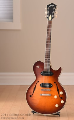 2011 Collings SoCo Deluxe P-90