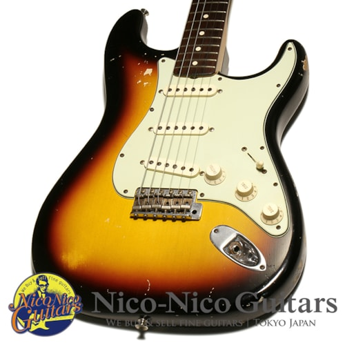 2011 Fender Custom Shop 1960 Stratocaster Relic Sunburst