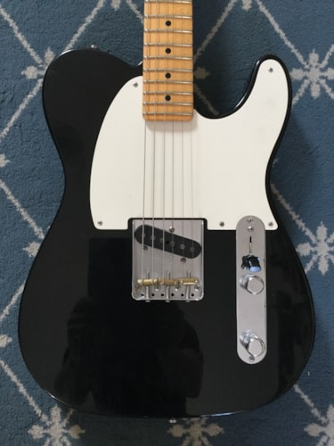 2011 Fender® Custom Shop Esquire Pro w/ Pine Body (Limited Run)  Black Aged, Excellent, Original Hard, $3,499.99