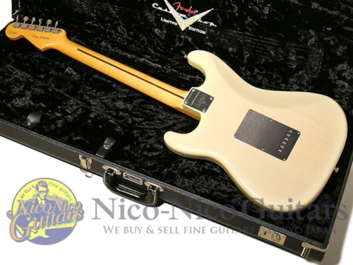 2011 Fender Custom Shop Limited Edition George Fullerton Prototype Stratocaster CC White Blonde Burs