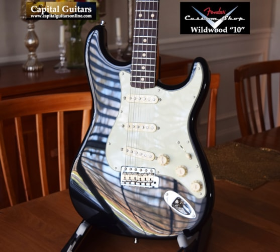 2011 Fender Custom Shop Wildwood 10 '61 NOS Stratocaster Black
