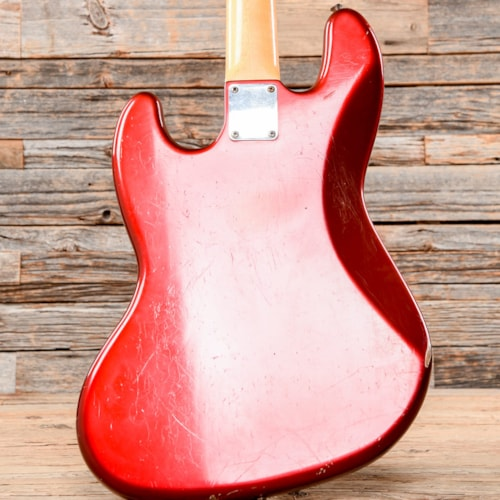 Fender Jazz Bass Faded Candy Apple Red 2011