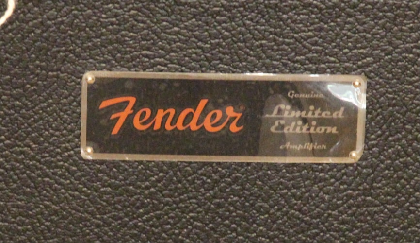 FENDER CLEARANCE SALE - 2011 Fender Limited Edition Hot Rod Deluxe III Black/Blonde/White, Brand New