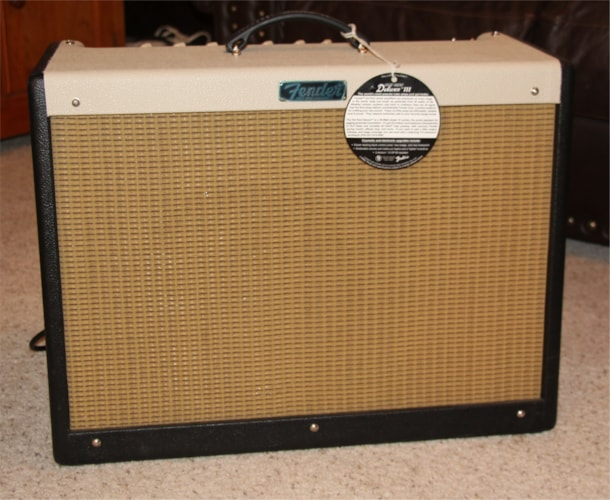 2011 Fender Limited Edition Hot Rod Deluxe III Black/Blonde/White, Brand New, $719.99