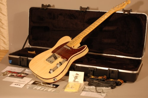 2011 Fender Telebration Lamboo Telecaster Natural, Mint, Original Hard