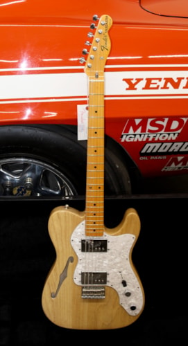 2011 Fender® Thinline Ameriican Made Natural, Brand New, Original Hard, $1,150.00