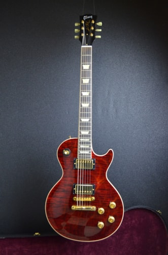 2011 Gibson Custom Shop Les Paul -Summer Jam #19 Transparent Burgundy, Excellent, Original Hard