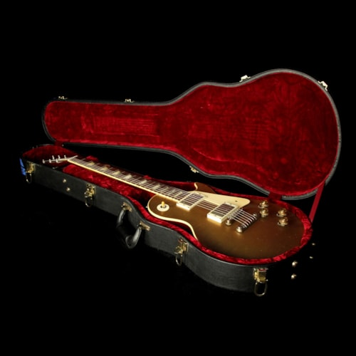 2011 Gibson Custom Shop Used 2011 Gibson Custom Shop Exclusive Murphy Ultra Aged '57 Les Paul Goldtop Electric Guitar Goldtop Excellent, $4,999.00