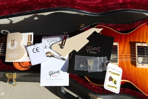 2011 Gibson Historic Collection 1960 Les Paul reissue Flamed Maple like new.
