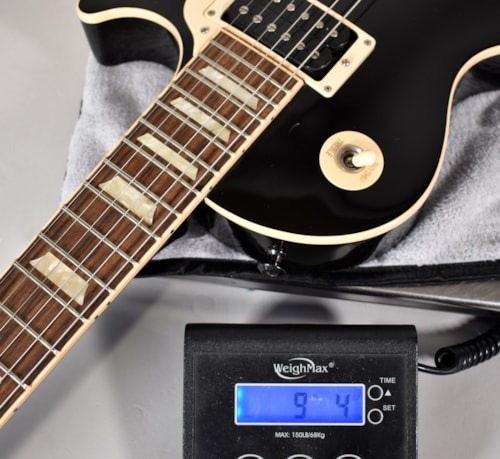 2011 Gibson Les Paul Classic Black Finish Electric Guitar w/OHSC USA