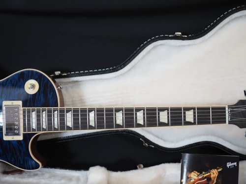 2011 Gibson Les Paul Standard Royal Blue