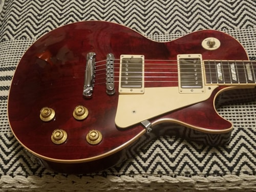 2011 Gibson Les Paul Standard Wine Red