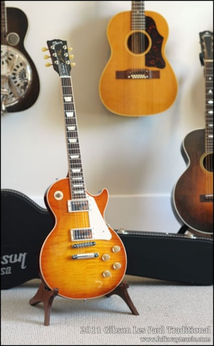 2011 Gibson Les Paul Traditional Excellent, Original Hard, $1,599.00