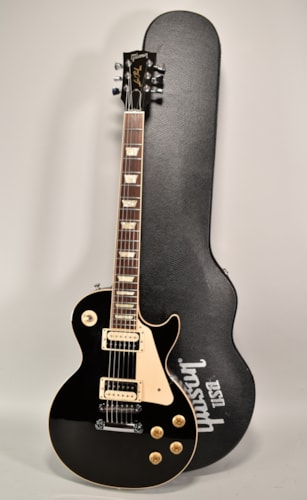 2011 Gibson Les Paul Traditional Pro Black Finish Electric Guitar w/OHSC