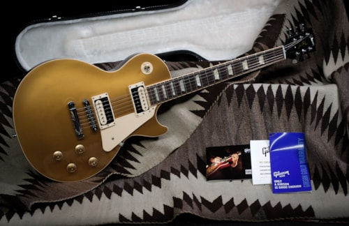 "2011 Gibson Les Paul Traditional Pro ""Goldtop"""