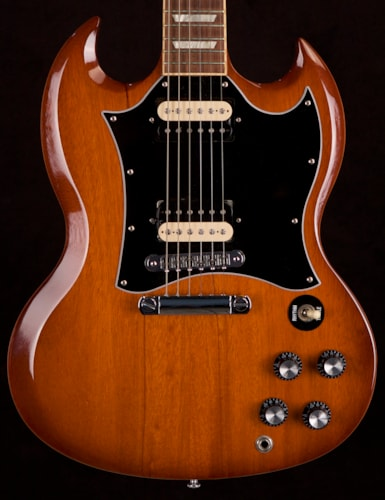 2011 Gibson SG Standard with Coil Splitting Humbuckers Natural Burst, Excellent, Original Hard, $1,395.00