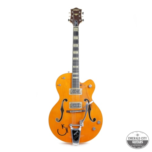 2011 Gretsch  G6120RHH Reverend Horton Heat Signature Orange, Excellent, Original Hard