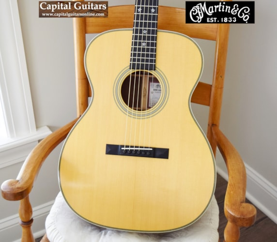 2011 Martin Custom Artist Edition OMM John Renbourn #40 Natural with Aging Toner, Excellent, Original Hard, $4,199.00