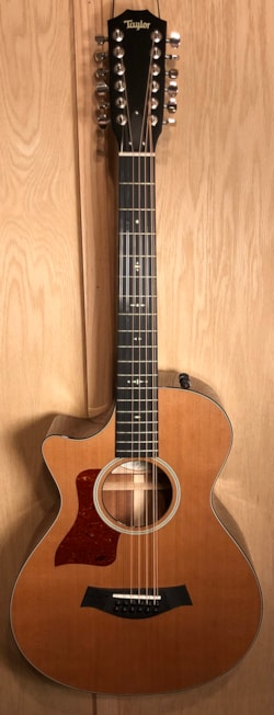 2011 Taylor 552CE Left Hand Version