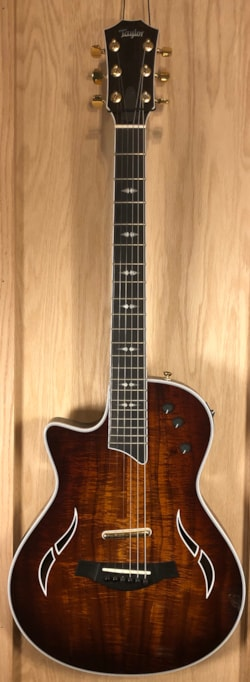 2011 Taylor T5z Custom Koa Top Left-Hand version