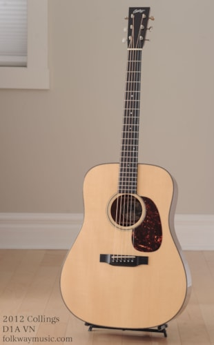 2012 Collings D1A VN Excellent, Original Hard, $3,899.00
