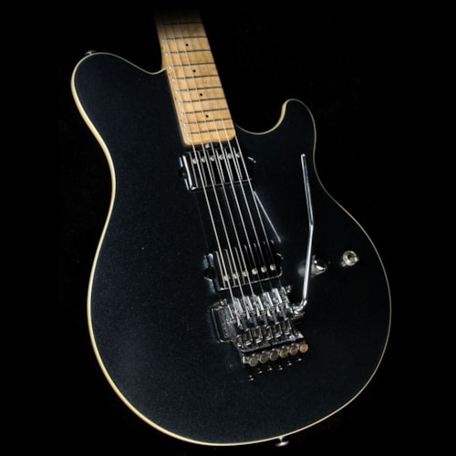 2012 ERNIE BALL MUSIC MAN Used 2012 Ernie Ball Music Man Axis Electric Guitar Black Magic Crystal Excellent, $1,799.00