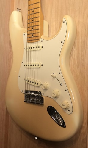 2012 Fender American Standard Stratocaster® Olympic White, Near Mint, Original Hard, $975.00