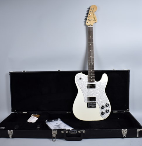 2012 Fender® Chris Shiflett Signature Deluxe Telecaster®  Arctic White, Excellent, Original Hard, $599.00