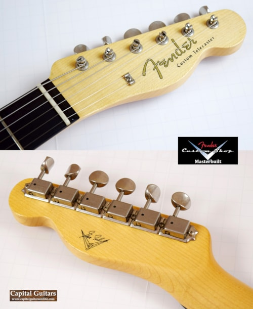 2012 Fender Custom Shop Greg Fessler Masterbuilt 62 Custom